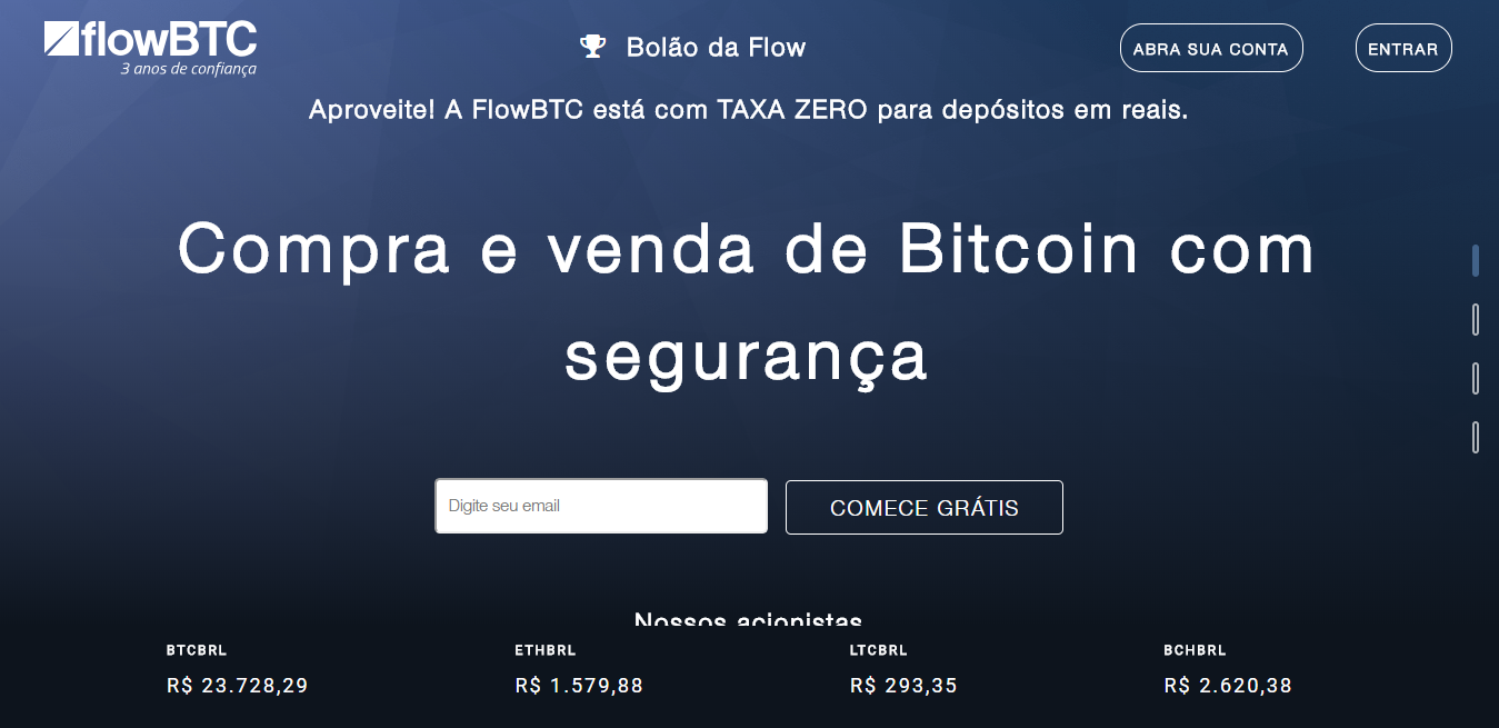 FlowBTC exchange