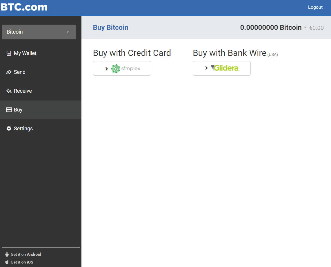 How to buy bitcoins on BTC.com
