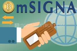 mSIGNA bitcoin wallet tutorial