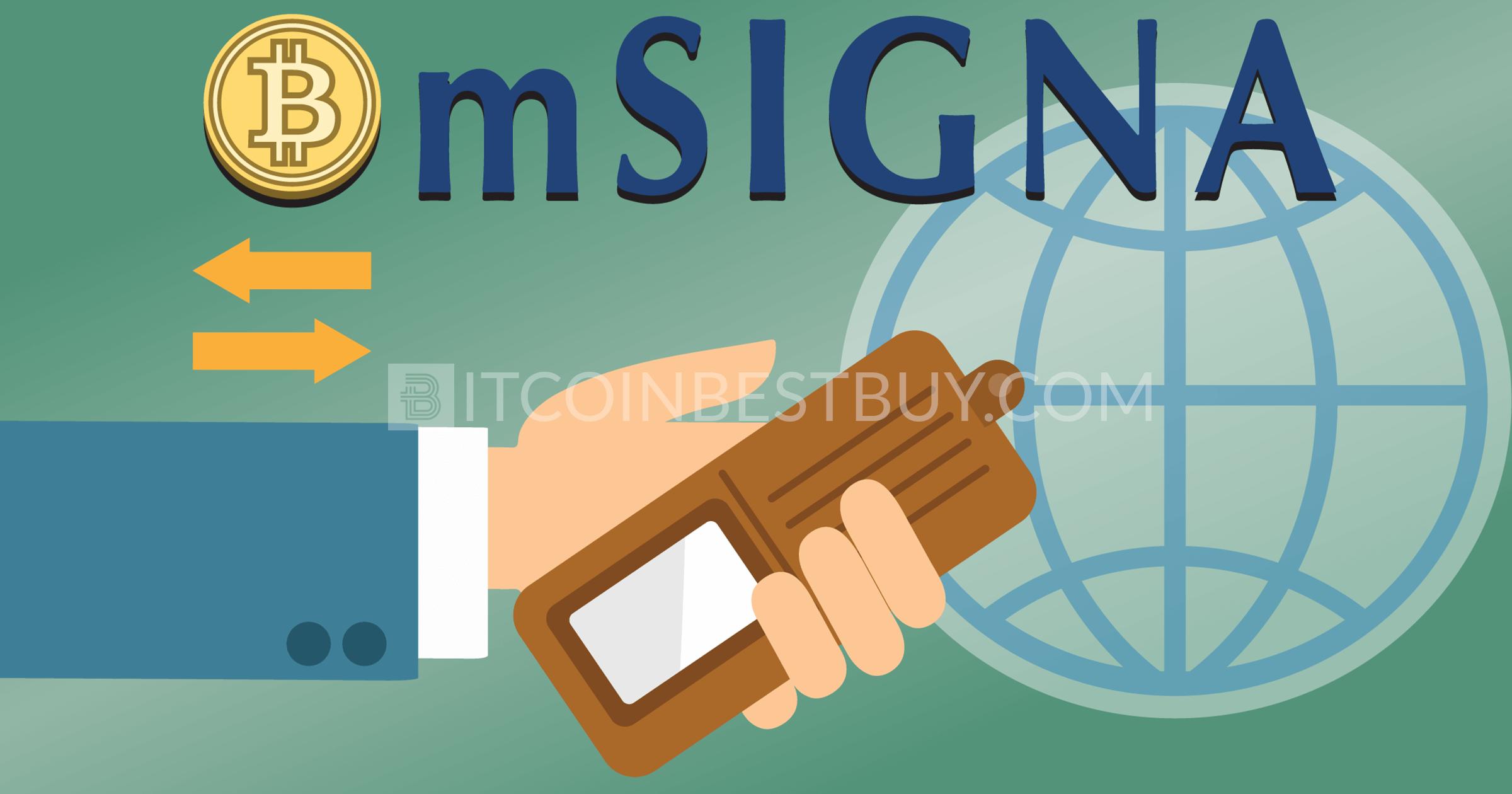 mSIGNA bitcoin wallet tutorial