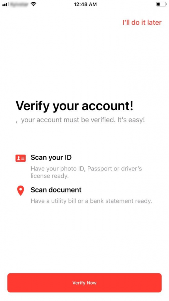 Verify Xapo account | BitcoinBestBuy