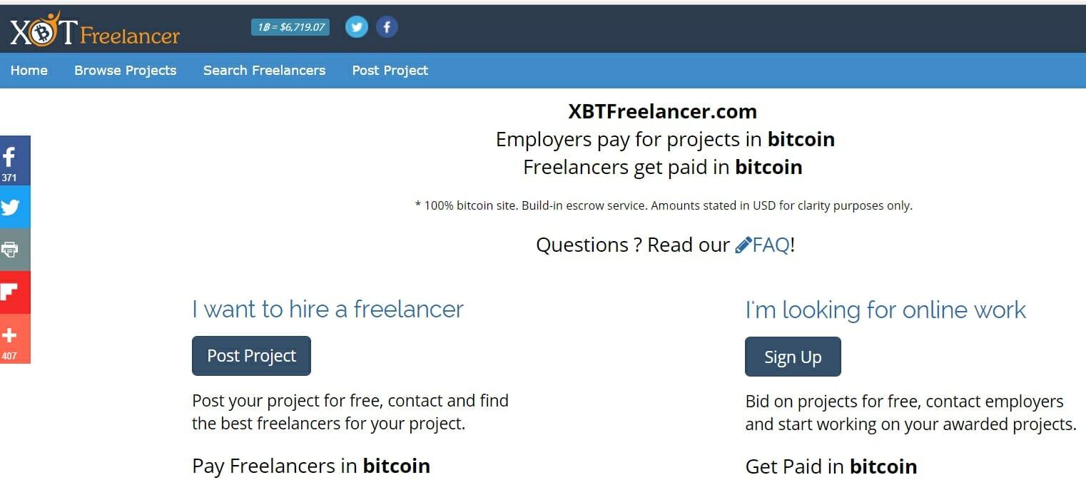 XBTfreelancer platform