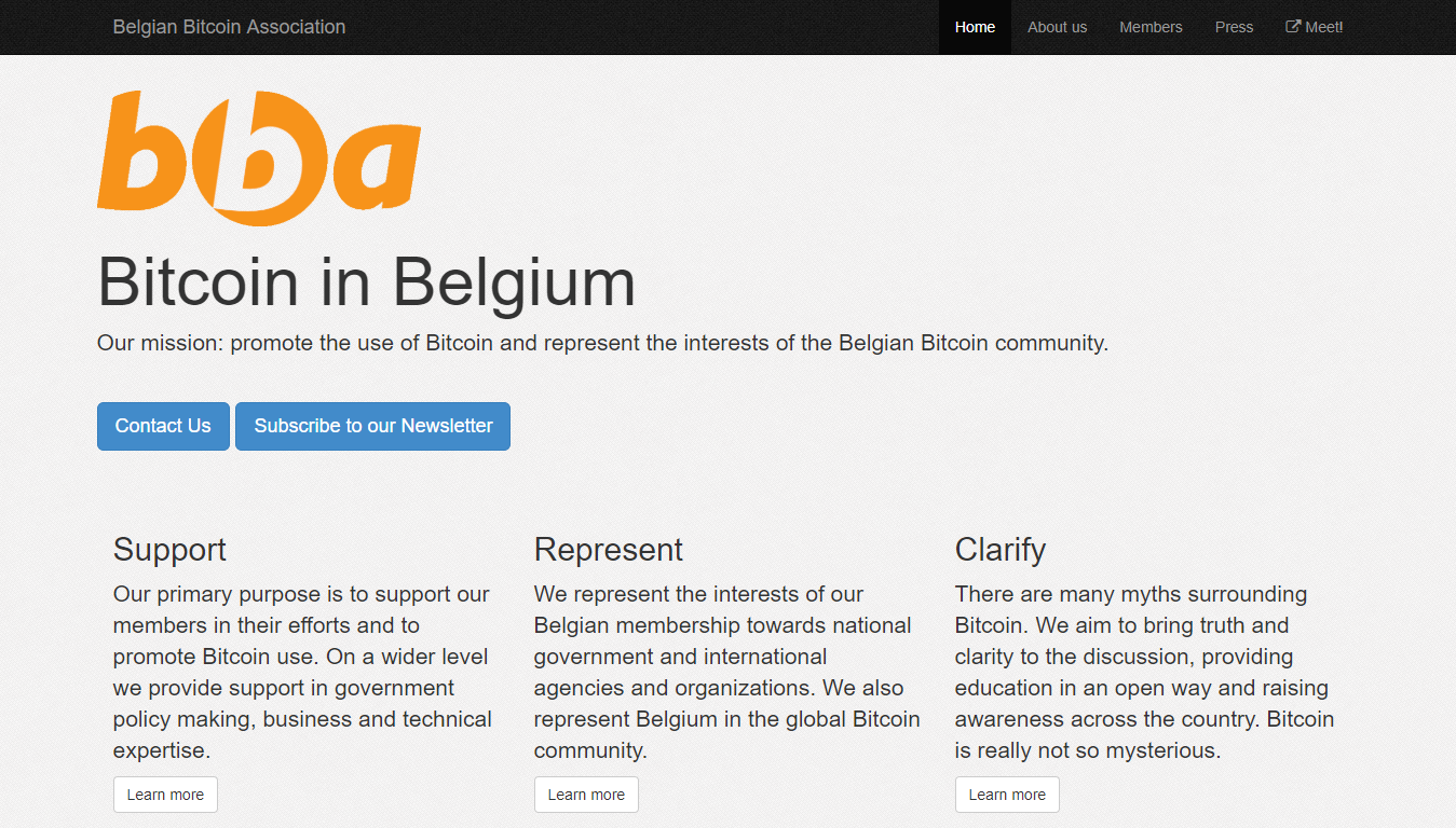 Belgian Bitcoin Association | BitcoinBestBuy