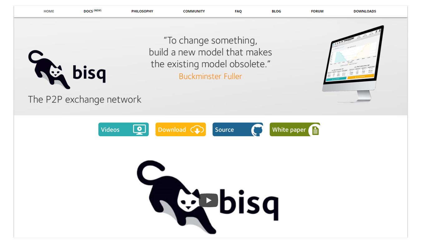 Bisq P2P exchange network