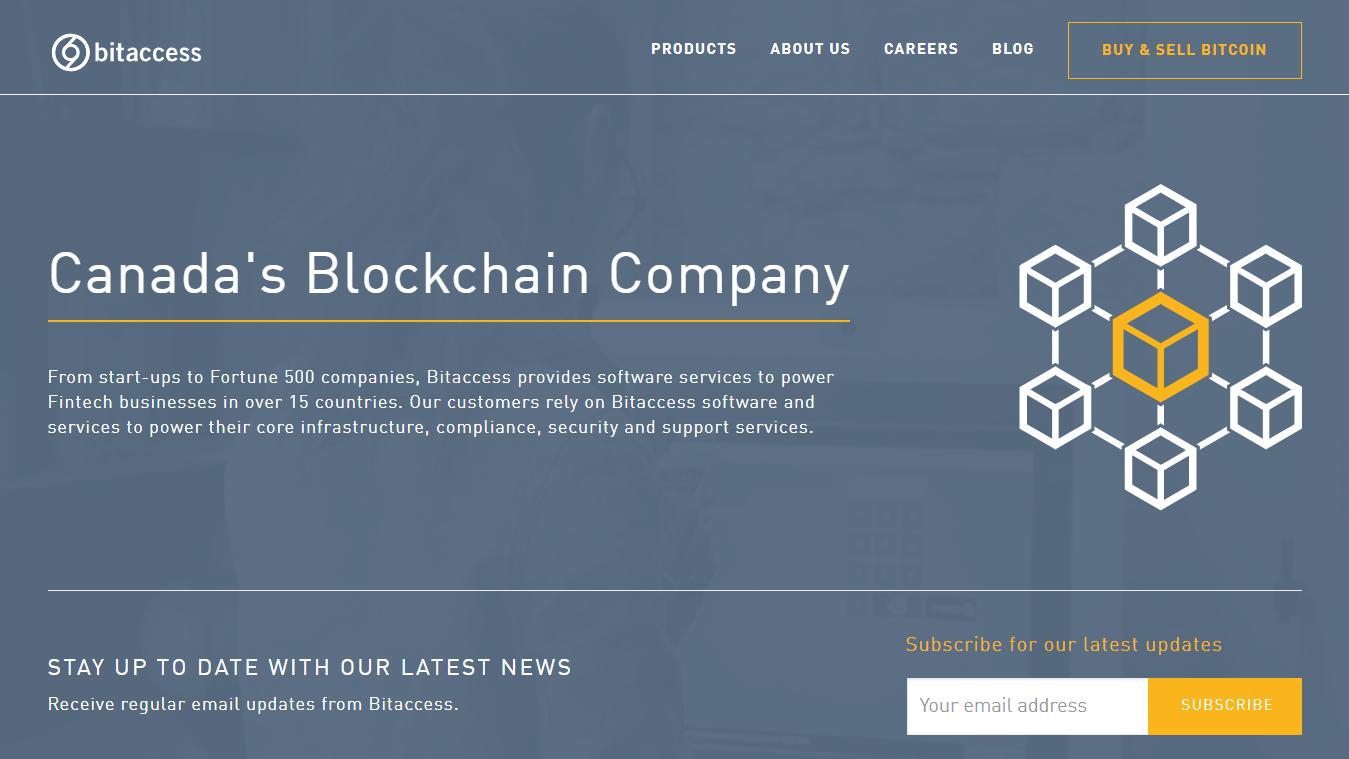 Bitaccess blockchain company