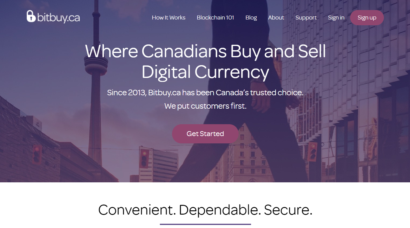 Bitbuy.ca digital currency exchange