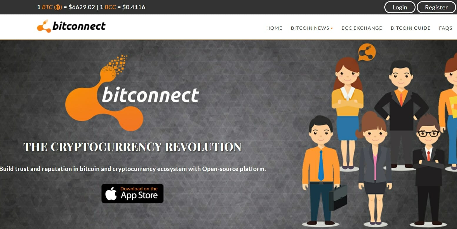 Bitconnect website
