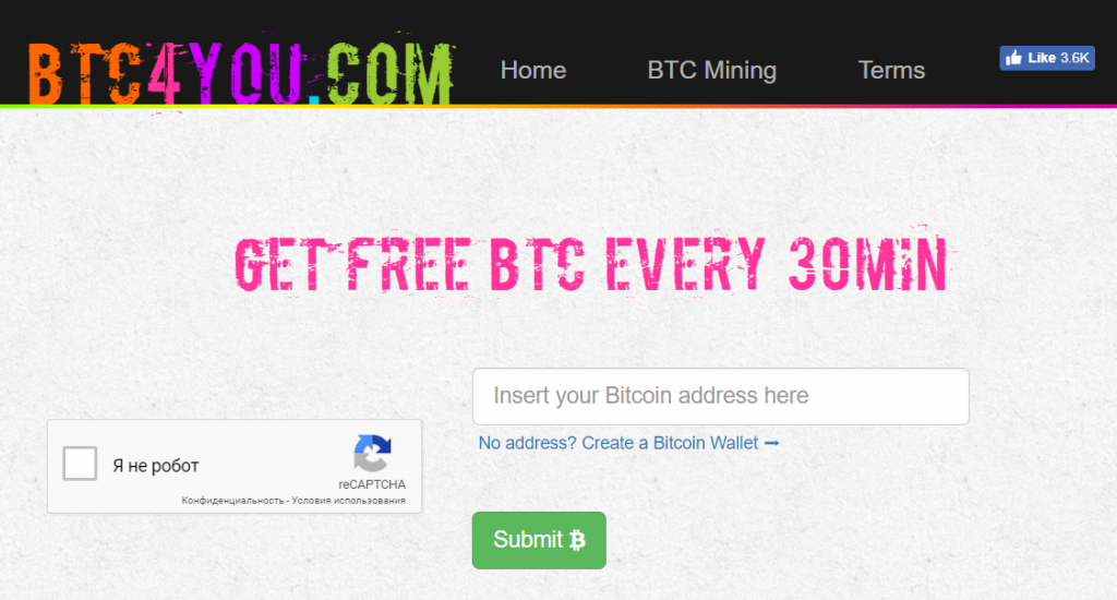 BTC 4 You website