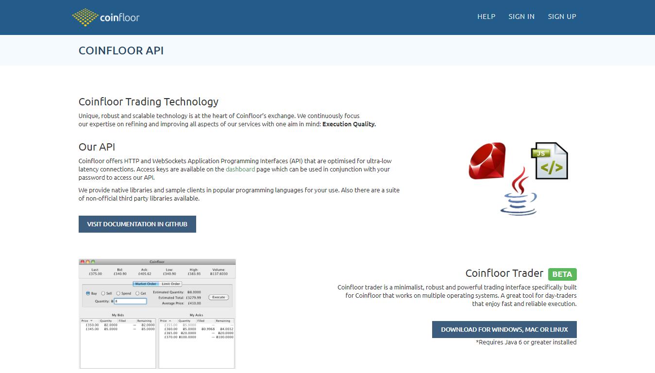 Coinfloor API