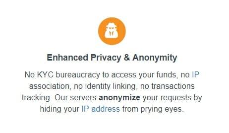 Coinomi privacy