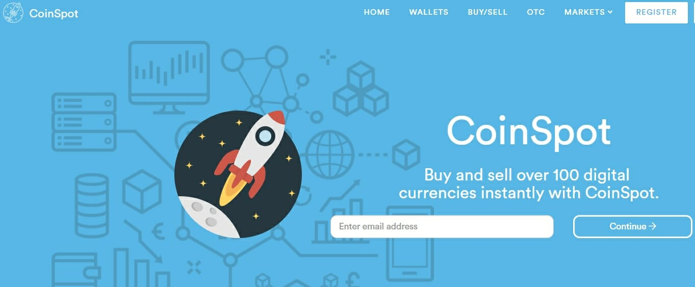 CoinSpot website