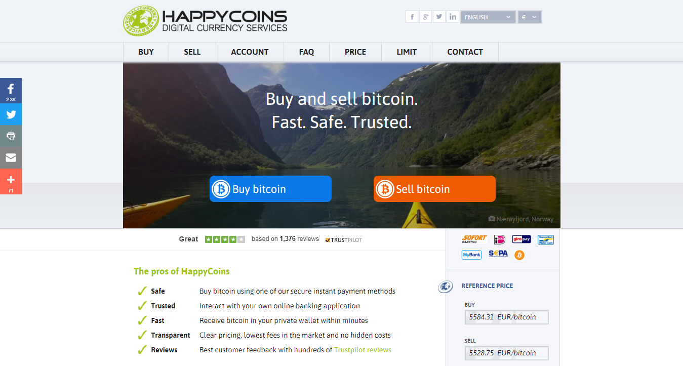 HappyCoins digital currency services