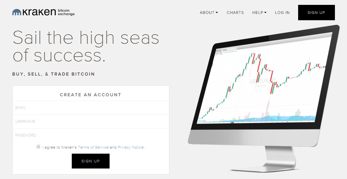 Kraken trade platform