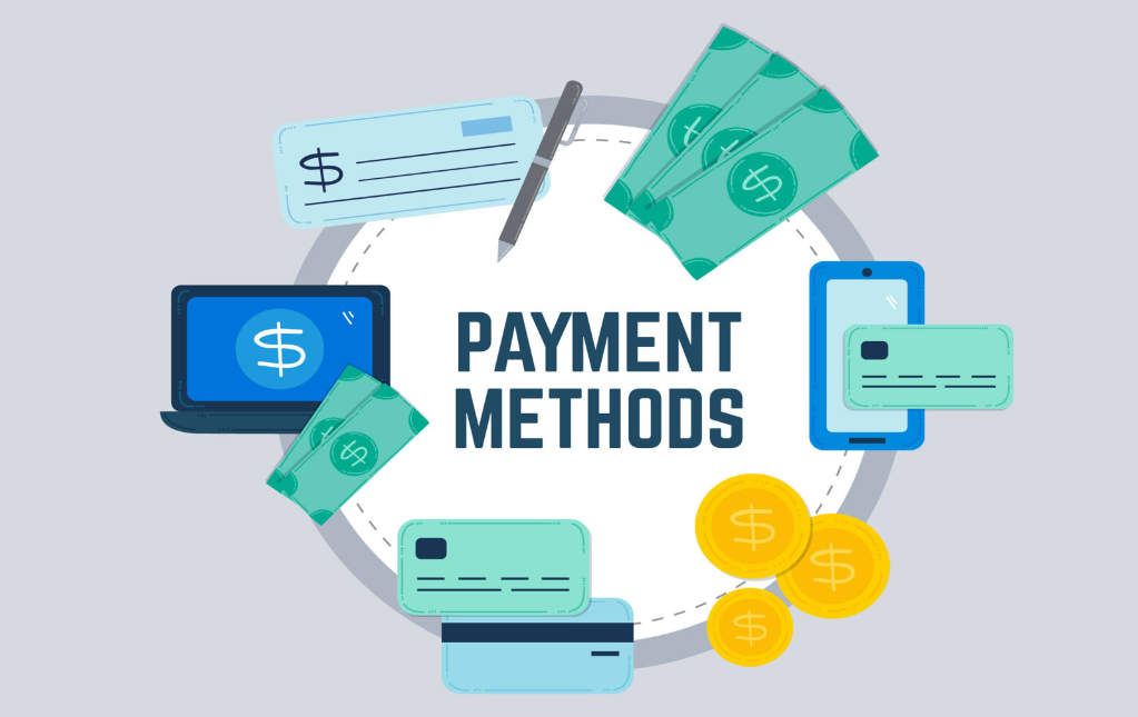 Payment methods when buying coins