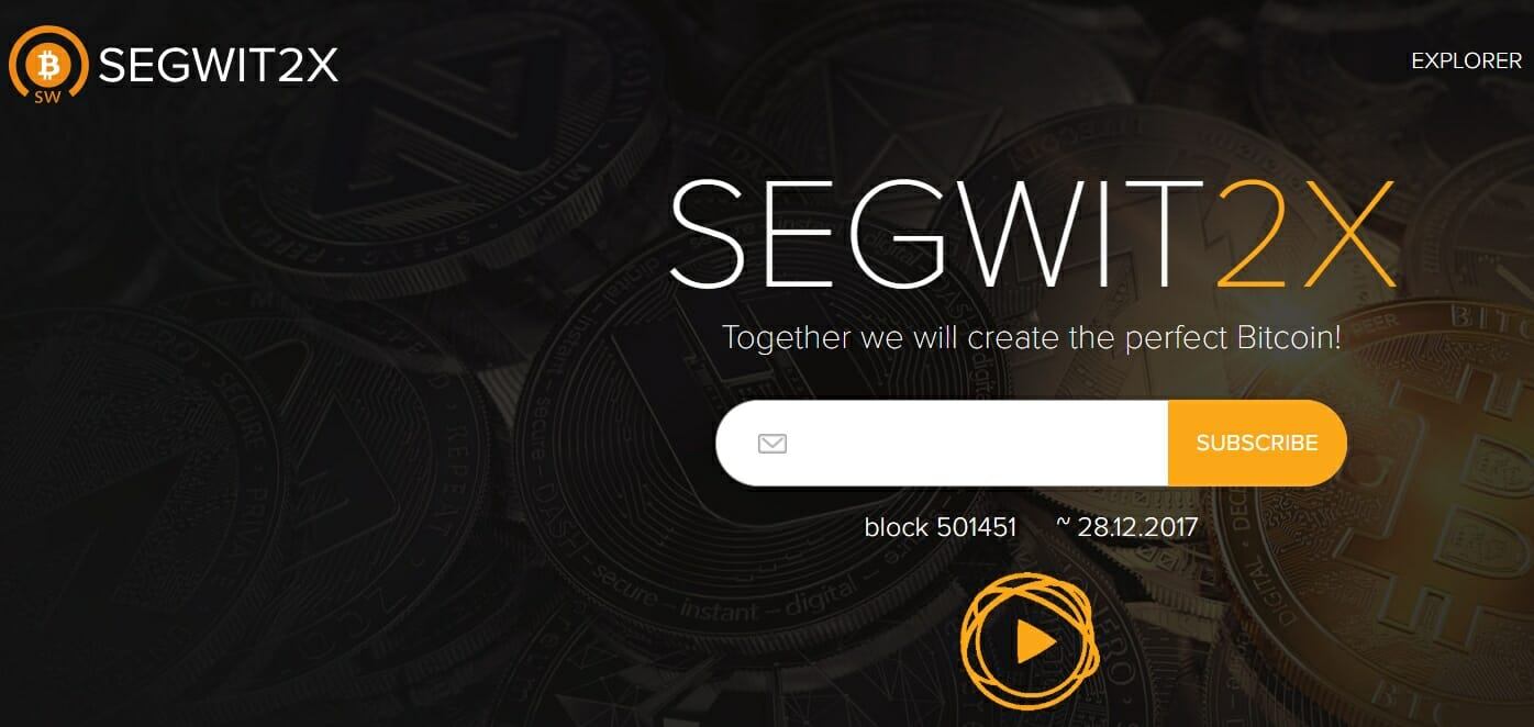 SegWit2x website