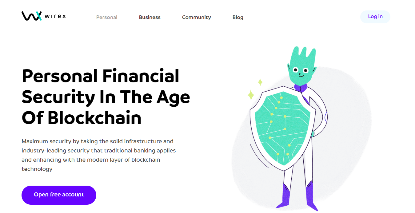 Wirex financial security