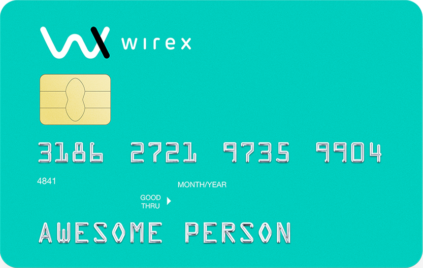 Wirex card example