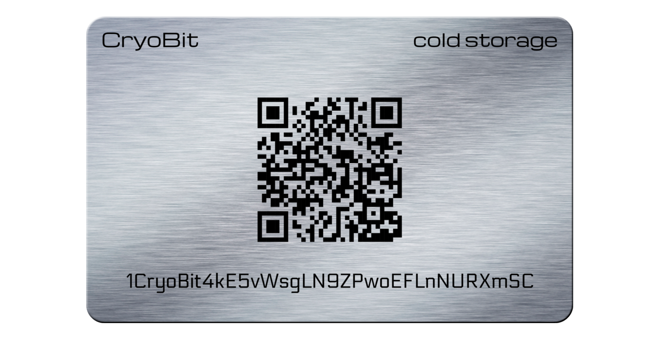 Cryo Card cold storage